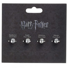 Load image into Gallery viewer, Harry Potter Spell Bead Charm Set-The Curious Emporium