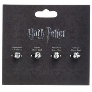 Harry Potter Spell Bead Charm Set-The Curious Emporium