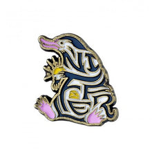Load image into Gallery viewer, Fantastic Beasts Enamelled Niffler Pin Badge-The Curious Emporium