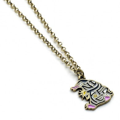 Fantastic Beasts Enamelled Niffler Necklace-The Curious Emporium