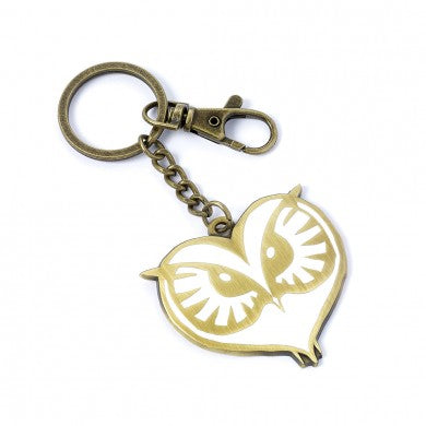 Fantastic Beasts Owl Face Keyring-The Curious Emporium