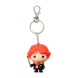 Harry Potter Rubber Keychain Ron Weasley 7cm-The Curious Emporium