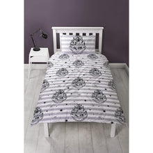 Load image into Gallery viewer, Don't Let The Muggles Single Reversible Duvet Set-The Curious Emporium