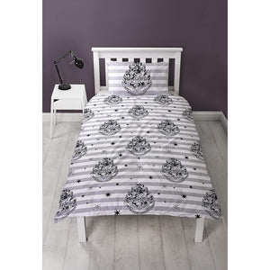 Don't Let The Muggles Single Reversible Duvet Set-The Curious Emporium