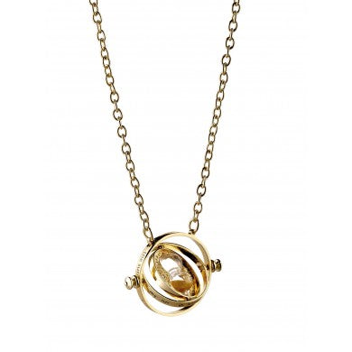 Harry Potter 30mm Spinning Time Turner Necklace-The Curious Emporium