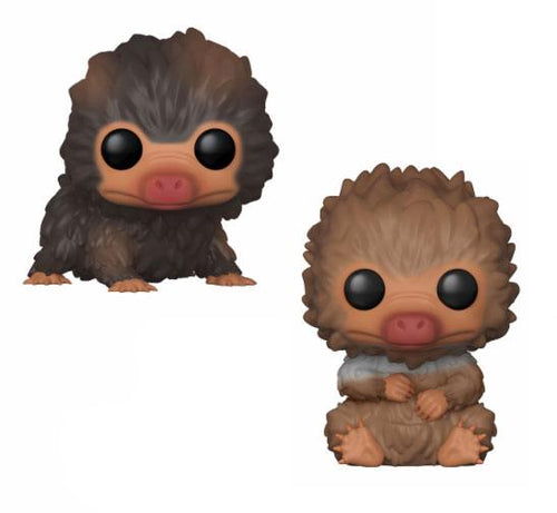 Fantastic Beasts 2 POP! Movies Vinyl Figures 2-Pack Baby Nifflers 9cm-The Curious Emporium