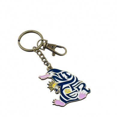 Fantastic Beasts Enamelled Niffler Keyring-The Curious Emporium