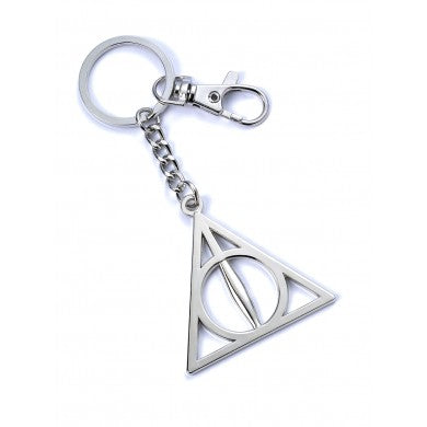 Deathly Hallows Keyring-The Curious Emporium