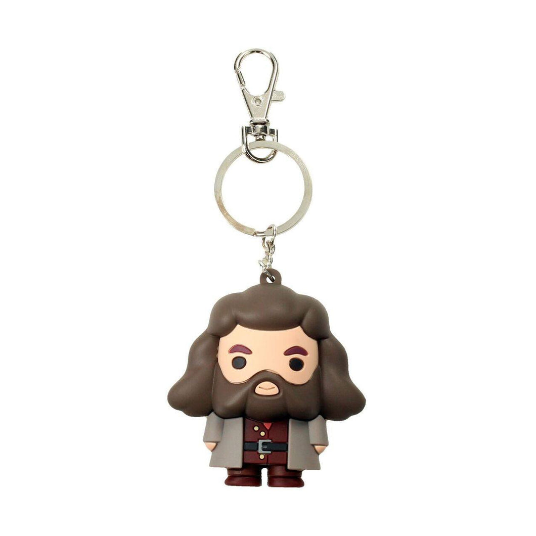Harry Potter Rubber Keychain Rubeus Hagrid 7cm-The Curious Emporium