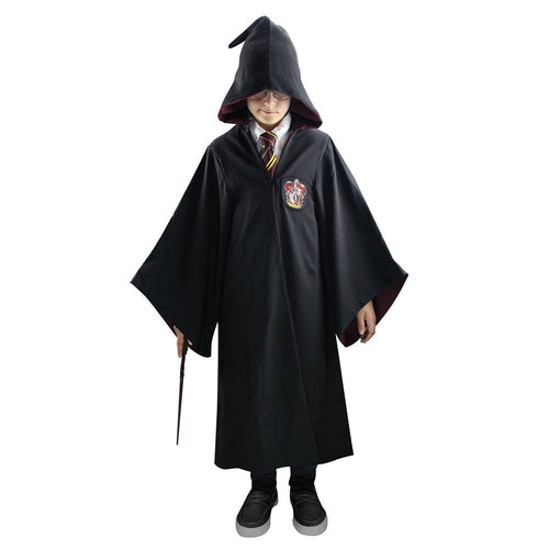Harry Potter Kids Deluxe Wizard Robe Gryffindor-The Curious Emporium