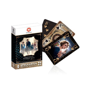 Fantastic Beasts Number 1 Playing Cards-The Curious Emporium