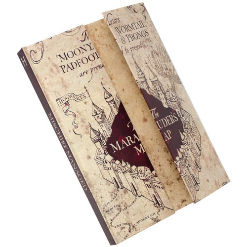 Harry Potter Magnetic Notebook A5 The Marauder's Map-The Curious Emporium