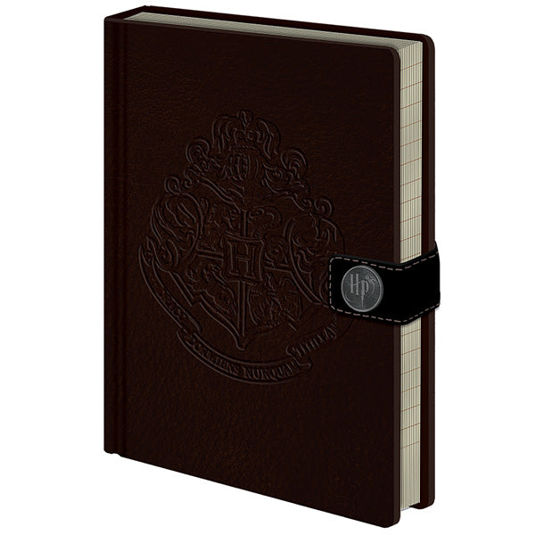 Harry Potter Premium Notebook A5 Hogwarts Crest-The Curious Emporium