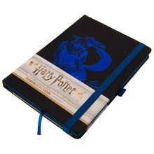 Load image into Gallery viewer, Premium A5 Notebook Ravenclaw Foil-The Curious Emporium