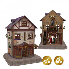 Load image into Gallery viewer, University Games Diagon Alley Quality Quidditch Suppliers 3D Puzzle-The Curious Emporium