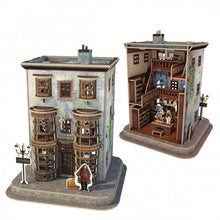 Load image into Gallery viewer, University Games Diagon Alley 4-in-1 3D Puzzle Set-The Curious Emporium