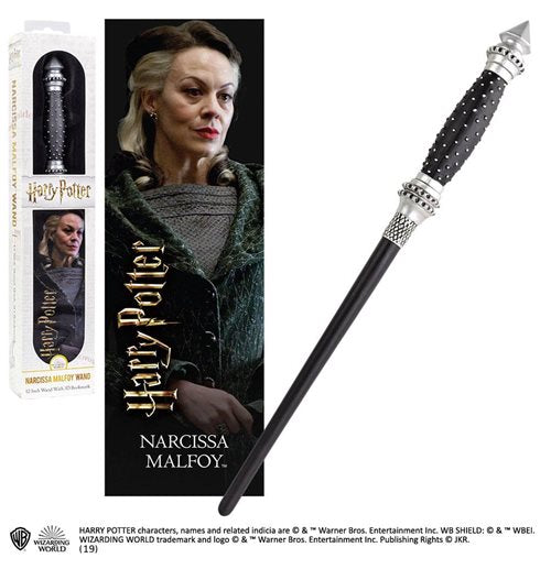Narcissa Malfoy Toy Wand & Bookmark-The Curious Emporium