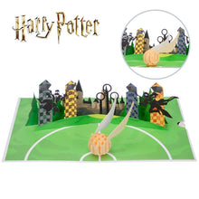 Load image into Gallery viewer, Harry Potter Golden Snitch Pop Up Card-The Curious Emporium