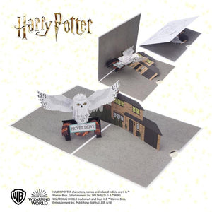 Harry Potter Hedwig Pop Up Card-The Curious Emporium