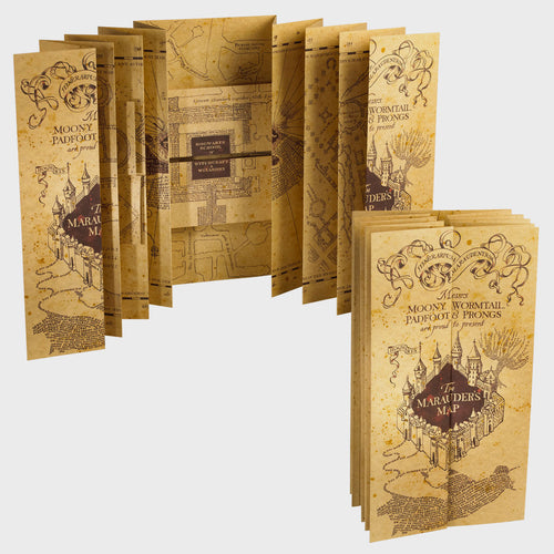 Noble Collection Marauder's Map-The Curious Emporium