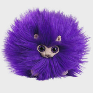 Noble Collection Purple Pygmy Puff Plush Toy-The Curious Emporium