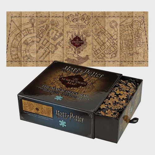 Noble Collection Marauders Map 1000pc Jigsaw Puzzle-The Curious Emporium
