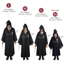 Load image into Gallery viewer, Harry Potter Adult Deluxe Wizard Robe Gryffindor-The Curious Emporium
