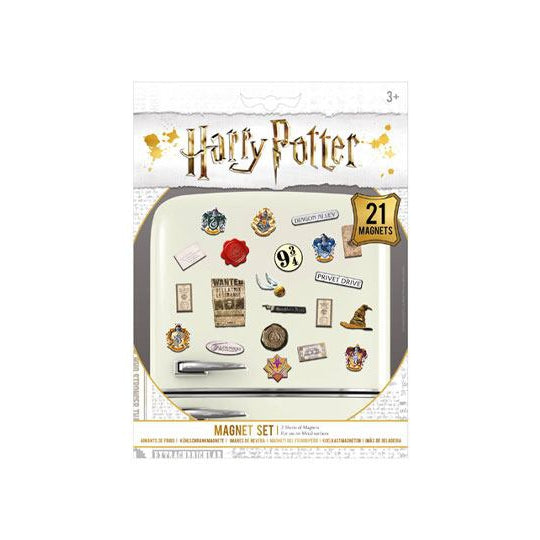 Harry Potter Fridge Magnets Wizardry-The Curious Emporium