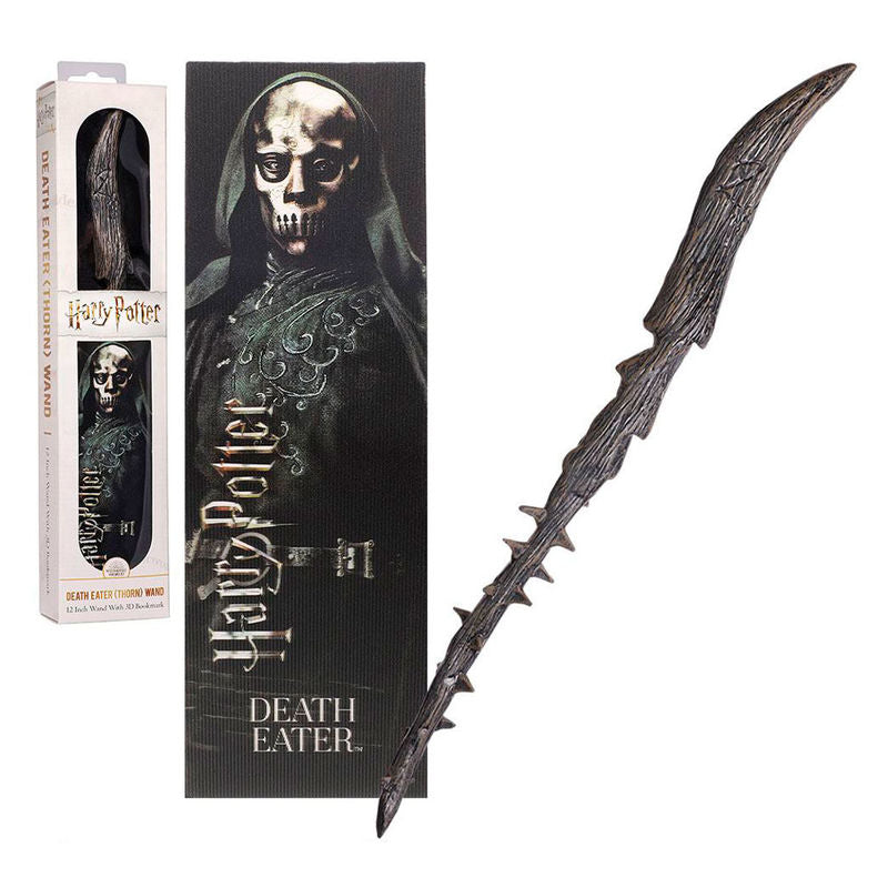 Death Eaters Toy Wand & Bookmark-The Curious Emporium