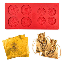 Load image into Gallery viewer, Gringotts Bank Coin Chocolate Mould-The Curious Emporium