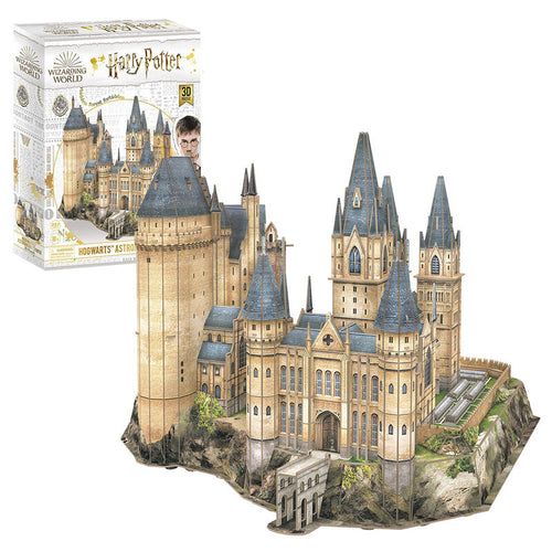 Hogwarts Astronomy Tower 3D Puzzle-The Curious Emporium