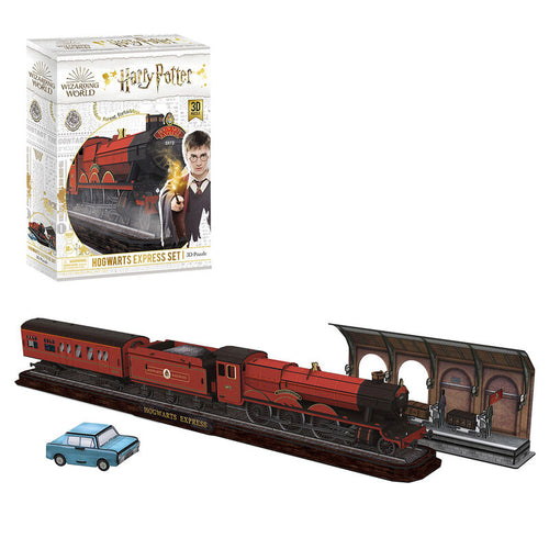 University Games Hogwarts Express Set 3D Puzzle-The Curious Emporium