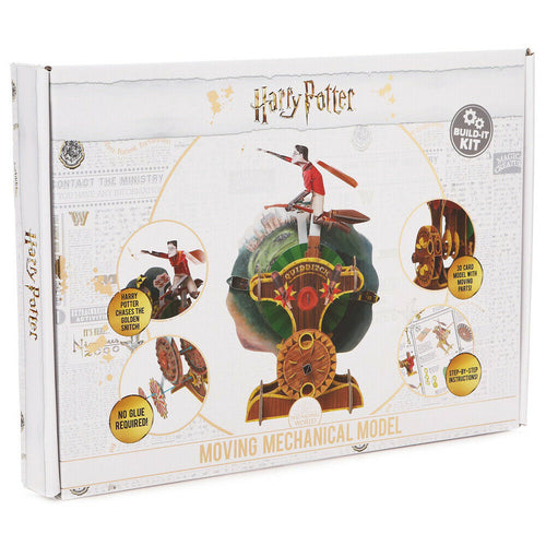 Model Cardboard Moving Mechanical Quidditch Model Build-It Kit-The Curious Emporium