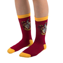 Load image into Gallery viewer, Socks 3-Pack Gryffindor-The Curious Emporium