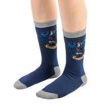 Load image into Gallery viewer, Socks 3-Pack Ravenclaw-The Curious Emporium
