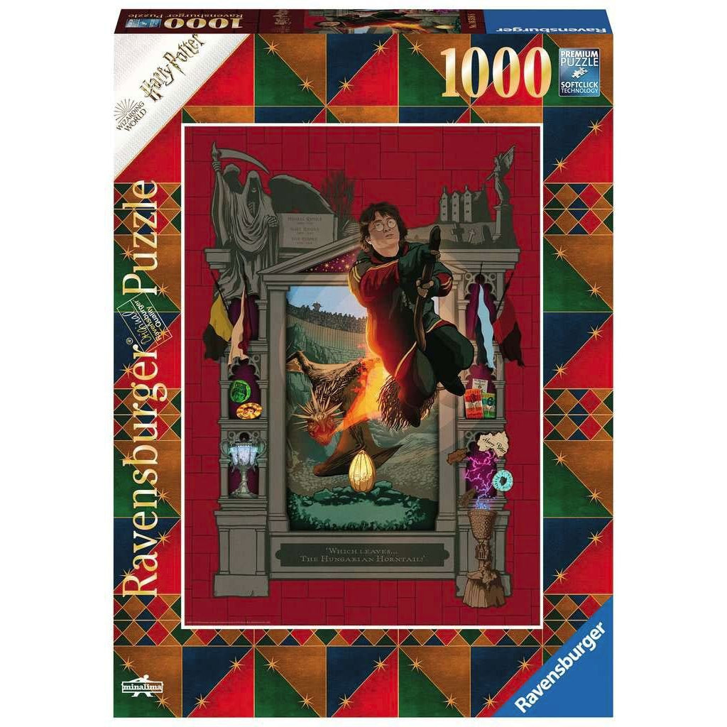 Harry Potter Jigsaw Puzzle Triwizard Tournament (1000 pieces)-The Curious Emporium