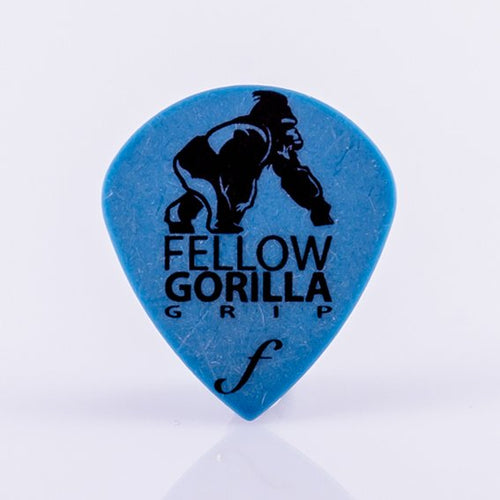 1.0mm Small Gorilla Grip Jazz Guitar Picks - 10 Pack