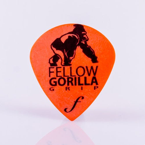 0.6mm Small Gorilla Grip Jazz Guitar Picks - 10 Pack