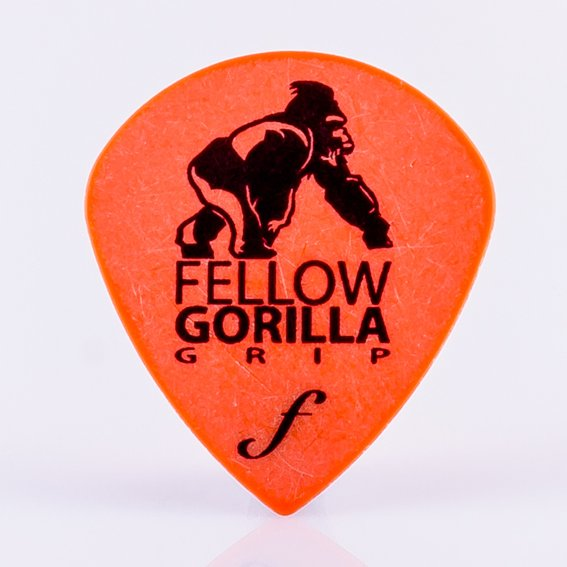 0.6mm XL Gorilla Grip Jazz Guitar Picks - 10 Pack