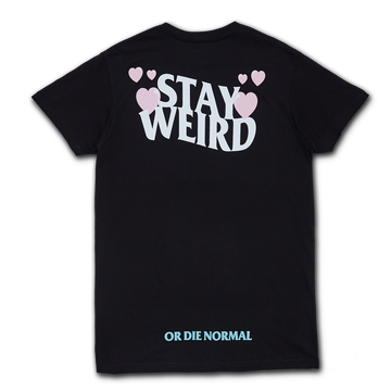 Stay Weird Tee - Black