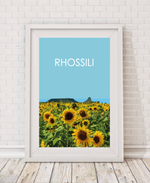 Rhossili Sunflowers
