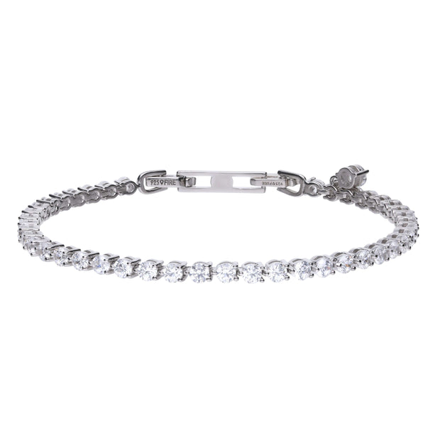 Pulsera eternities en plata
