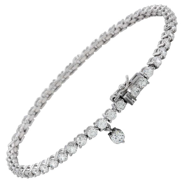 Pulsera de plata Brilliant eternities