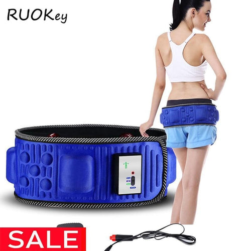 5 Motor X5 Slimming Belt Massage Electric Vibrating Waist Exercise Leg Belly Fat Burning Heating Abdomen Massager