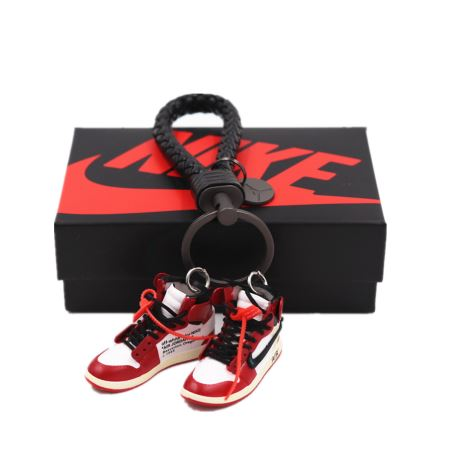 OFF WHITE AIR JORDAN 1S (PAIR) 2X