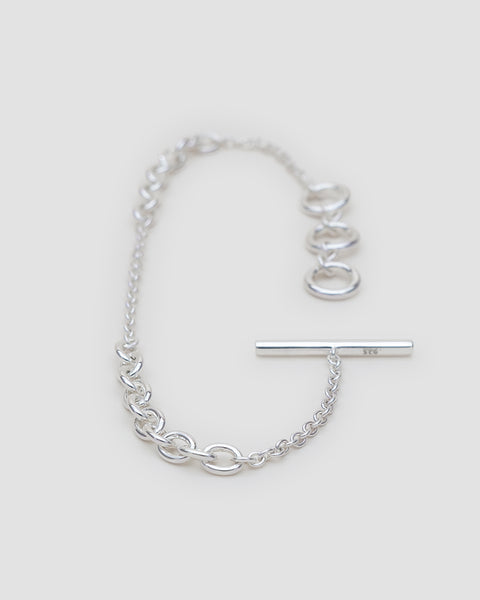 Load image into Gallery viewer, Petite chain trio bracelet