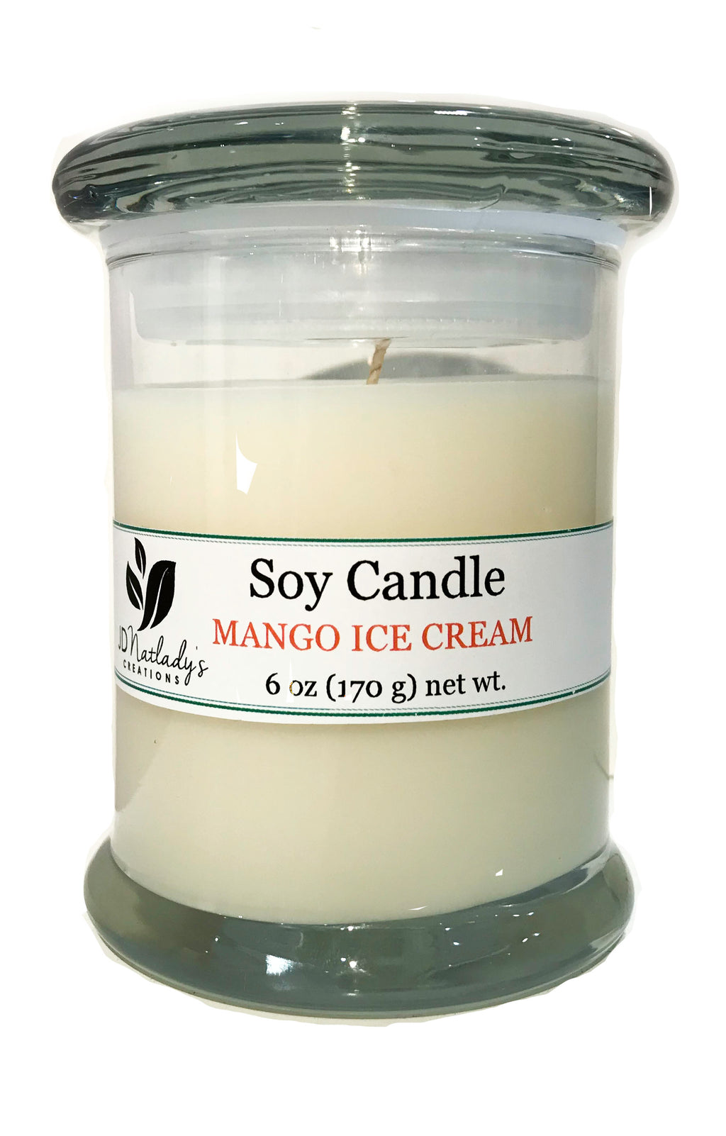 Mango Ice Cream Soy Candle