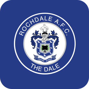 Rochdale FC-Poppy Stop-Personalised Gifts-Gift Shop-Gift Ideas-Homeware-Stationary