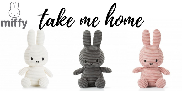 Miffy Dolls in pink, white or grey. cute gift for new born, babies or children Personalised Gifts | Premium Stationary | Chic Homeware Accessories | Gift Ideas |  Homeware | New Baby Gifts | Wedding Gifts | Engagement Gifts