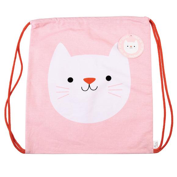 COOKIE THE CAT DRAWSTRING BAG-Poppy Stop-Poppy Stop